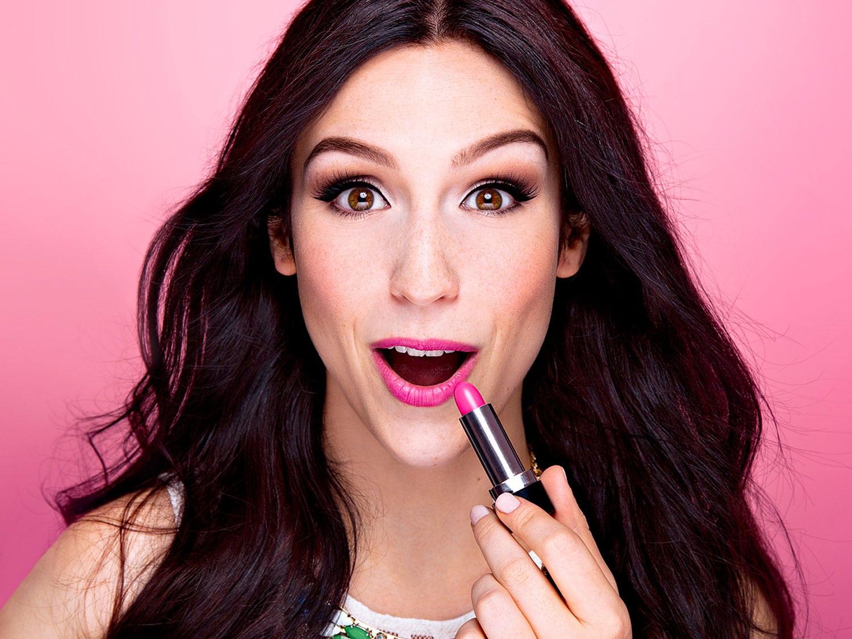 Maquillage de soirée Purple Glam | Maquillage Cynthia